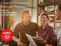 Ultimi giorni per candidarsi a Impact International Graduate Program!