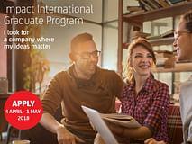 Aperte le selezioni per il nostro Impact International Graduate Program!