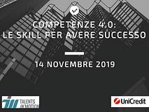Competenze 4.0: le skills del futuro!