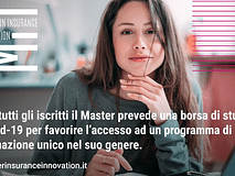 Una Borsa Covid-19 per il MII - Master in Insurance Innovation