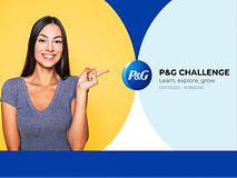 P&G Challenge: learn, explore, grow!