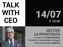 Talk with CEO: Gestire la ripartenza