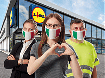 "Lidl per l'Italia: ambasciatori del ""Made in Italy"""