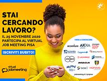 Trova lavoro al Virtual Job Meeting PISA