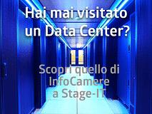 Visita il nostro Data Center, vieni a conoscerci a Stage-it