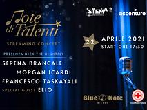"""Giovedì 22 aprile partecipa al concerto in streaming """"Note di Talenti"""""""