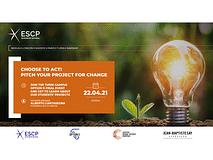 Pitch your project for a change: l'evento dedicato all'imprenditoria targato ESCP Business School