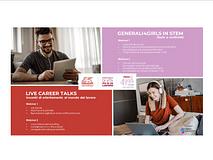 Ripartono i nostri incontri Live Career Talks e Generali4Girls in STEM!