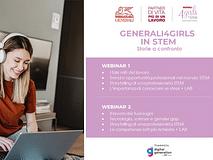 Torna Generali4Girls in STEM– Storie a confronto, iscriviti!