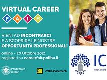 Partecipiamo al Virtual Career Fair Poliba