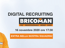 Bricoman recruiting day: diventa allievo/a caposet...