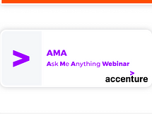 Accenture A.M.A Ask me anything!
